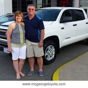 Chip & Amy V. at McGeorge Toyota