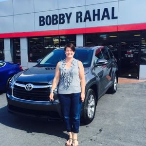 Natalie K at Bobby Rahal Toyota of Lewistown