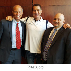 Reg Evans, Michael Mansour Bob K at Pennsylvania Independent Auto Dealers Association