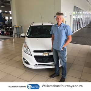 Denis D at Williams Hunt Fourways G2