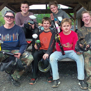 G F at Wanna-Play Paintball