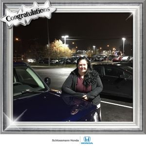 Samantha at Schlossmann Honda City of Milwaukee