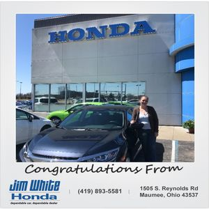 Rebecca M at Jim White Honda