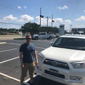 Joseph R at Haley Toyota Certified