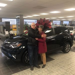 Frank & Diane Keshvari at Bobby Rahal Toyota of Lewistown