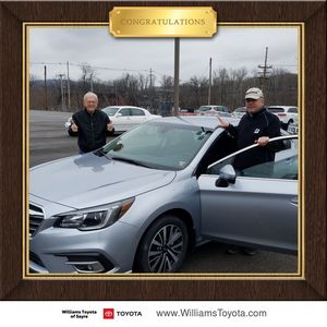 Edward O at Williams Toyota of Sayre