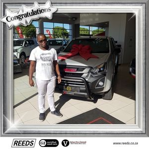 Sandiso M at Reeds Motor Group