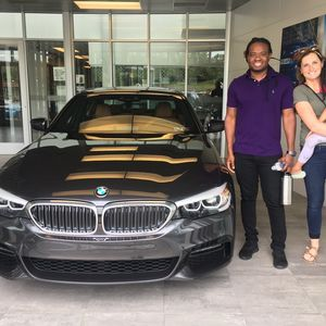 Brandon W at Bobby Rahal BMW of South Hills