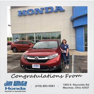 Candice N at Jim White Honda