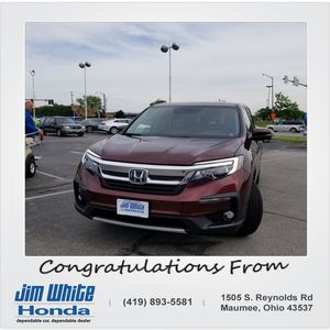 James b at Jim White Honda