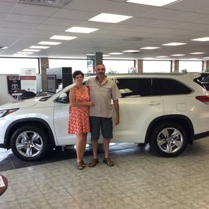 Jeff & KELLI Seiber at Bobby Rahal Toyota of Lewistown