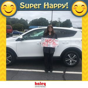 Cynthia A at Haley Toyota Certified