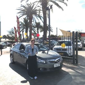 Zoe at Adelaide Vehicle Centre