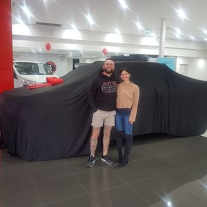 Diana & Jesse at National Capital Toyota