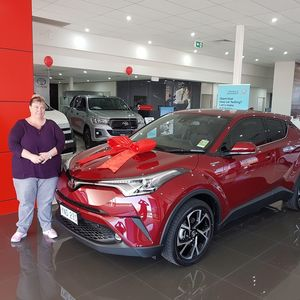 Mrs Kylie k at National Capital Toyota