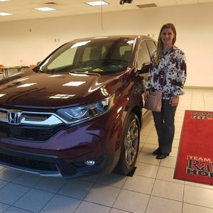 Ashley H at Bobby Rahal Honda