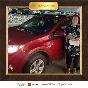 Lynn & Conrad Parshall at Williams Toyota of Sayre