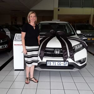 Annemi B at Imperial Honda East Rand Mall