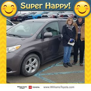 David & Valerie at Williams Toyota of Sayre
