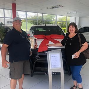 Julie v at Thorp Isuzu Plumstead