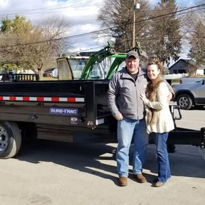 Matt & Lori Varner  at Best Choice Trailers