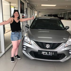 Stephanie at Barry Bourke Suzuki