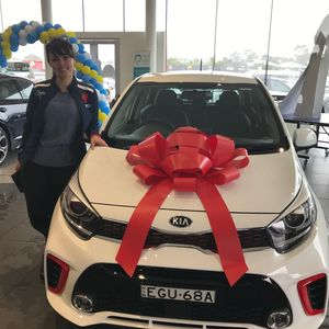 Anne M at Peter Warren Kia