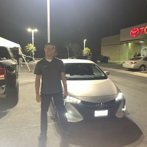 Aaron m at I-10 Toyota