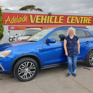 Judy S  at Adelaide Vehicle Centre