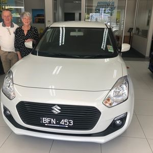 Gail at Barry Bourke Suzuki