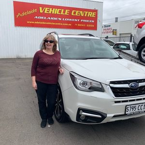 Suzanne G at Adelaide Vehicle Centre