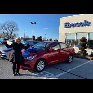 Cindy E at Ebersole Hyundai