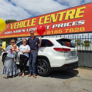 Jess Hill at Adelaide Vehicle Centre