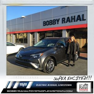 LaRae F at Bobby Rahal Toyota of Lewistown