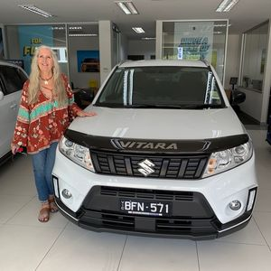 Sue Hamilton  at Barry Bourke Suzuki