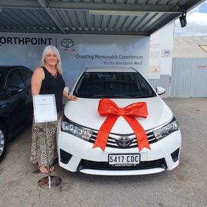 Patricia C at Northpoint Toyota Windsor Gardens