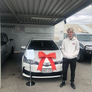 Jarrod at Northpoint Toyota Windsor Gardens
