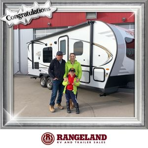 Barbara & Hugo at Rangeland RV