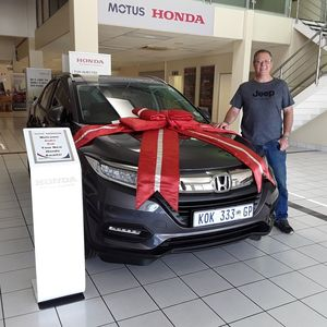 Andre K at Imperial Honda East Rand Mall