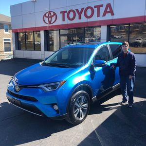 Sue B at Bobby Rahal Toyota of Lewistown