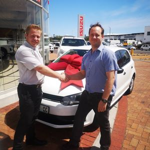 Jaco Oosthuizen at Reeds Motor Group