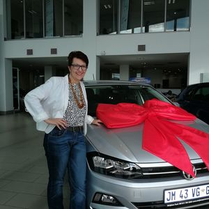 Iwona B at Strijdom Park Volkswagen
