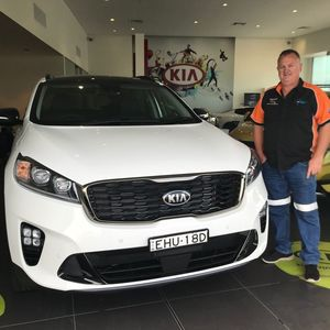 Phil T at Peter Warren Kia