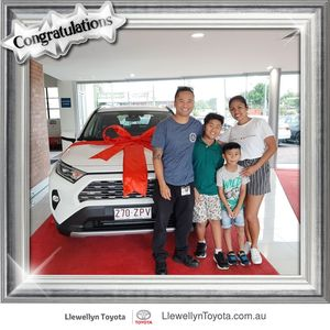 Harold P at Llewellyn Toyota