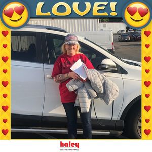 Marie Hoffman at Haley Toyota Certified