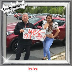 Glenis P at Haley Toyota Certified