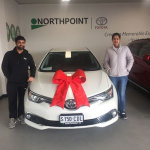 Vipin S at Northpoint Toyota Prospect