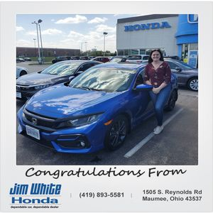 Lindsay G at Jim White Honda