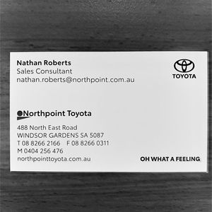 Matthew H at Northpoint Toyota Windsor Gardens