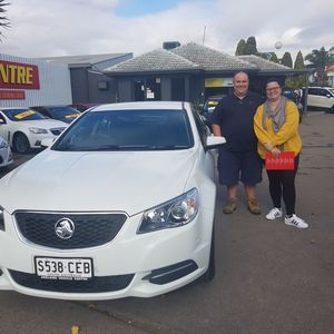 Brad & Nic at Adelaide Vehicle Centre